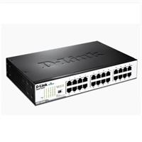 Switch 24 Ports 10/100/1000Mbps No Gestionable Gigabit DGS-1024D.