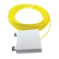Roseta preconnectoritzada SC/APC 50m cable G657A2