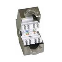Conector RJ45 H Cat.6 FTP UL T568A/B 180º