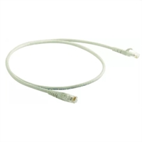Connector flexible RJ45 Cat 5E UTP 1m gris