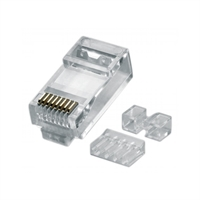 Connector RJ-45 UTP Cat. 6A M cable flex/rigid