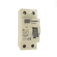 Interruptor diferencial 2P 25A 300mA AC