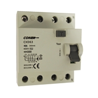 Interruptor Diferencial 4P 40A 300mA AC