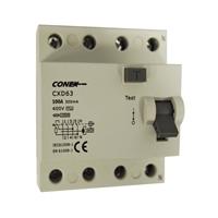 Interruptor Diferencial 4P 100A 300mA AC