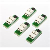 5 sensores de temperatura 1-Wire