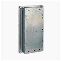 Caja para montaje empotrado videoportero Intercom