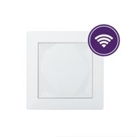 Polsador Touch Air. 5 punts de contacte, amb sensor temperatura i humitat. Blanc