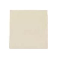 Tapa cega 1 mòdul per a marcs embellidors. Blanc