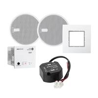 "Receptor d'Audio In wall Bluetooth AC, altaveus 2 ½"", blanc"