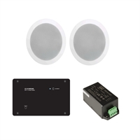 kit amplificador In ceiling Soundaround wi-fi + 4 altaveus encastar 5,25