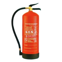 Extintor pols ABC 6 Kg Eff. 27A-183B.