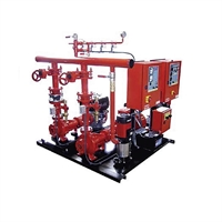 Equipo contraincendio electrico-diesel FED 24m3/h 60mca UNE 23500-2012