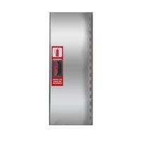 Armario extintor 6kg Puerta Ciega INOX