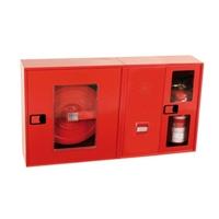 Armari modular superficie Extintor + polsador + alarma 660x480x210 Horitzontal
