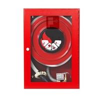 BIE-25 rodet fix 700X500X230 Vermella. Porta amb visor metacrilat
