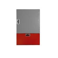 Armario extintor 6Kg Plus 350x680x180 Vertical. Puerta ciega roja