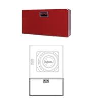 Armari extintor 6Kg Plus 350x680x180 vertical. Porta Cega vermella