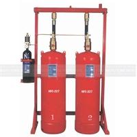 Bateria 2 cilindros HFC-227 80 litros 24 bar