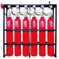 Bateria 6 cilindros HFC-227 80 litros 24 bar