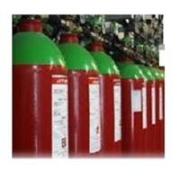 Bateria de 6 cilindres 80 litres gas d'extinció Novec 1230