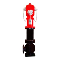 Hidrant de columna seca presa recta 3