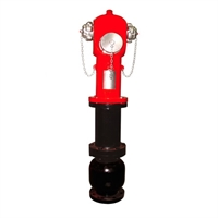 Hidrante de columna seca toma recta 4