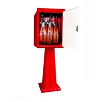 Caseta d'hidrant de xapa amb dotació Cepreven