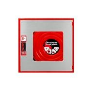 BIE-25 Star 650x680x195mm Caixa vermella, porta INOX amb visor. 20m