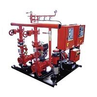 Equipo contraincendios eléctrico-diesel FED 120m3/h 70mca UNE 23500-2012