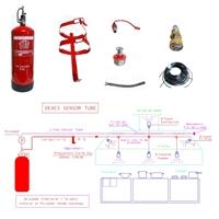 Kit Detecció i Extinció Campanes EAC-Sensor Tube XT-10 amb 5m Tub + 5 Difusors +caputxa