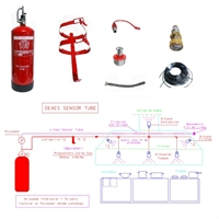 Kit Deaes EAC-Sensor Tube XT-10 con 5m Tubo y 5 Difusores +capucha