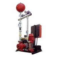 Equipo contraincendio eléctrico 60m3/h 90mca E+J UNE 23500-2012