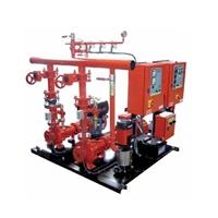 Equip contraincendi elèctric-dièsel 60m3/h 90mca E+D+J UNE 23500-2012