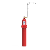 Sistema modular gas inert 1 cilindre 80 litres 300 bar