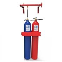 Sistema modular de agua nebulizada con 1 cilindro 80L H2O+1 cilindro 80L N2
