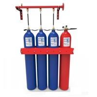 Batería de agua nebulizada de 3 cilindros 80L de H2O + 1 cilindro 80L de N2