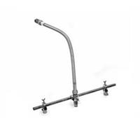"""Latiguillo flexible 1"""" longitud 1500mm reductor 1/2"""