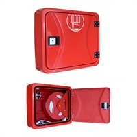 BIE-45 fibra de vidre 550x610x265mm intempèrie, vermella 20m