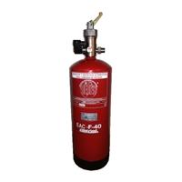 Extintor 9 litros para extinción campanas EAC-F40