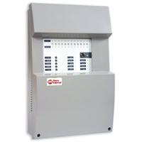 Central de detección de incendio convencional CONEX-4Z-2.0 de 4 zonas.