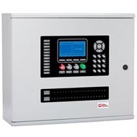 Central detección incendio analógica 4 a 8 lazos CONEXA 4/8LP Batería 24A/h