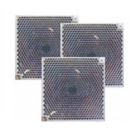 Kit 3 espejos para ampliación barrera detección IR hasta 100m