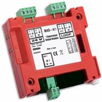Mòdul de control direccionable 1 sortida 24V supervisada.