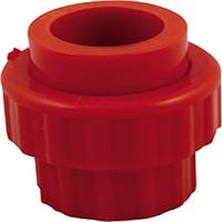Unión directa 25mm con rosca Roja detección aspiración
