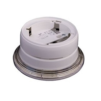 Base con sirena e indicador óptico vía radio para detector Conv.