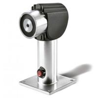 Retenidor de porta electromagnètic 40kg terra/paret amb suport ajustable