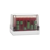 Caja transparente para instalación de 6 módulos analógicos