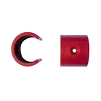 Clip per orifici de mostreig en el tub d'aspiració de 6 mm (10 u)