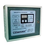 Central detecció de monòxid EGA 1 zona fins 10 detectors.