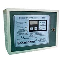 Central detección de CO EGA 1 zona hasta 15 detectores